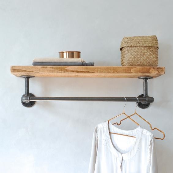Portobello Industrial Clothes Shelf
