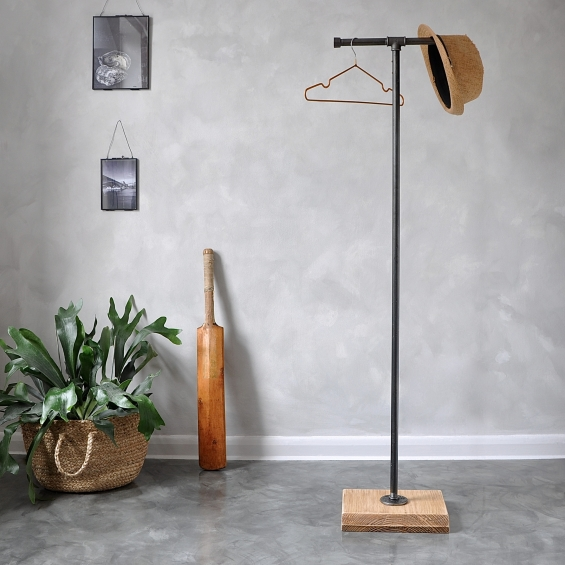 Industrial Coat And Clothes Stand