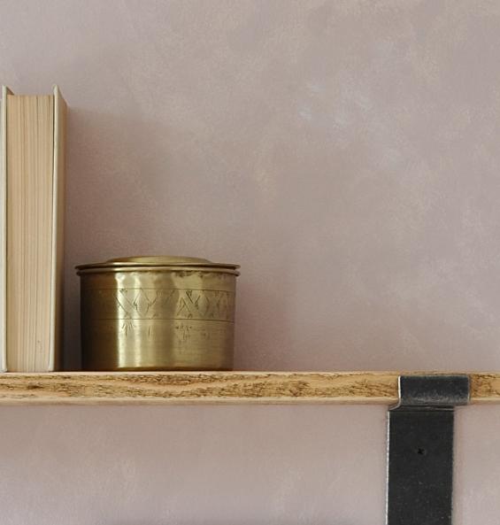 Dulwich Industrial Wood And Steel Shelf
