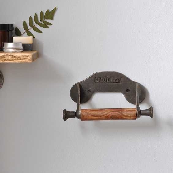 Traditional Style Toilet Roll Holder