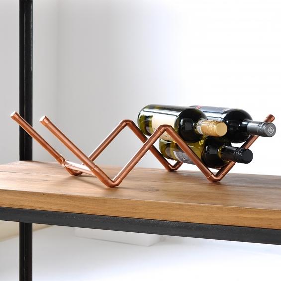 Copper Wine Rack