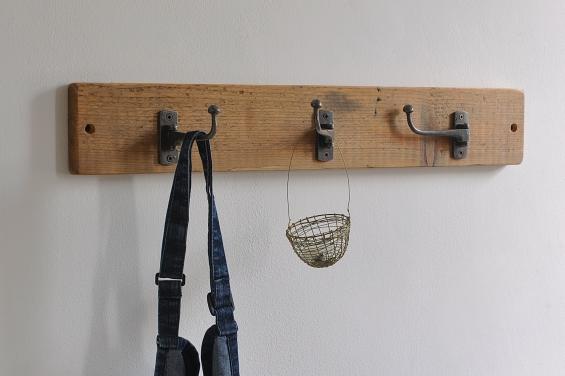 Reclaimed Swivel Coat Hook